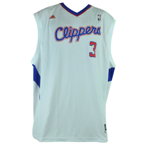 NBA Los Angeles Clippers LA 105 Pro 3 Chris Paul Jersey 2XLarge XXL White Adidas