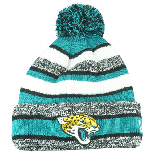 NFL New Era Jacksonville Jaguars 2014 Sideline On Field Sport Knit Cuffed Beanie