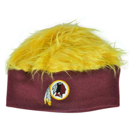 NFL Washington Redskins Meester Knit Headband Flair Hair Yellow Fan Beanie Hat
