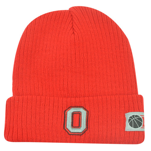 cheap for discount 4e146 a898a NCAA Ohio State Buckeyes Cuffed Fan Favorite Loom Red Knit Beanie Winter Hat  ...