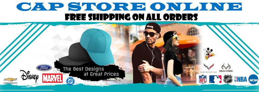 CAP     STORE     ONLINE FREE SHIPPING ON ALL ORDERS