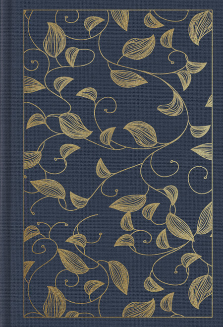 ESV Student Study Bible (Cloth over Board, Navy, Vine Design) (Cloth over Board, Navy, Vine Design) [Cloth bound]