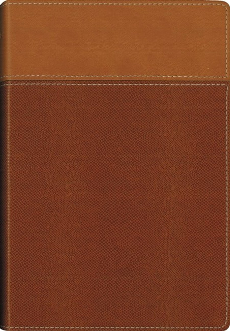 NIV Thinline Bible Soft Leather Brown [Imitation Leather]
