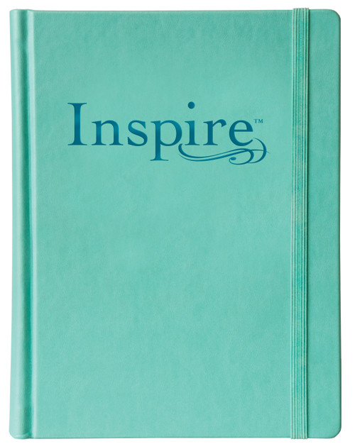 NLT Inspire Bible The Bible for Coloring & Creative Journaling [Imitation Leather]