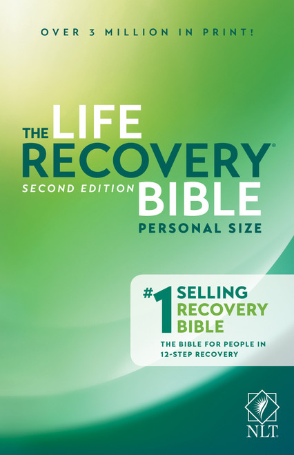 NLT Life Recovery Bible Personal Size Personal Size [Paperback]