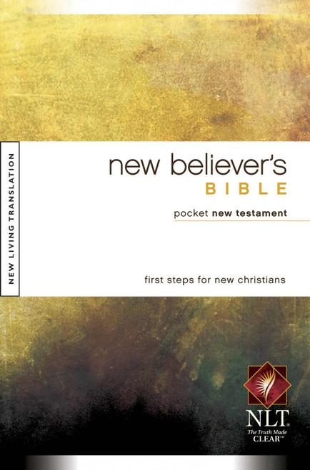 NLT New Believer's Bible Pocket New Testament Make the Connection [Paperback]
