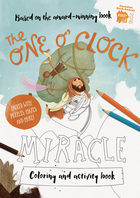 One O'Clock Miracle Coloring and Activity Book [Paperback]