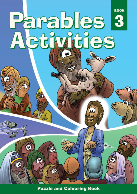 Parables Activities Book 3 [Paperback]