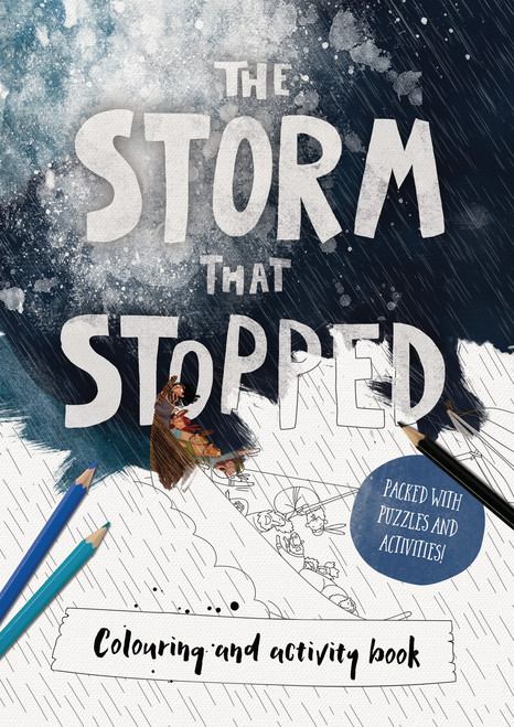 Storm That Stopped Coloring and Activity Book [Paperback]