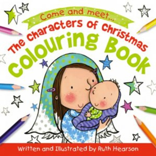 The Characters of Christmas Coloring Book [Paperback]