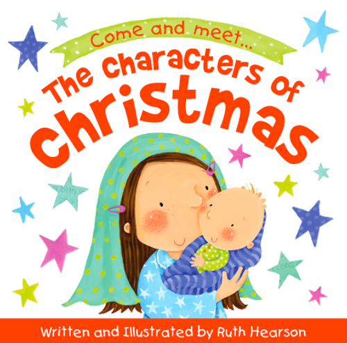 The Characters of Christmas Storybook [Paperback]