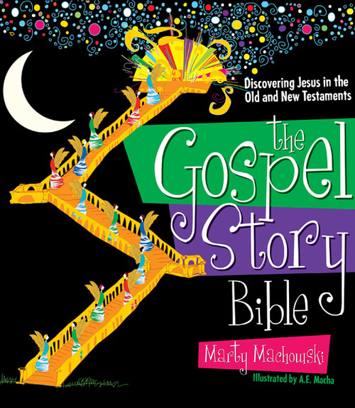 The Gospel Story Bible Discovering Jesus in the Old and New Testaments [Hardback]