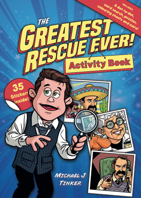 The Greatest Rescue Ever! Activity and Sticker Book [Paperback]