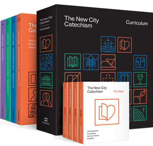 The New City Catechism Curriculum Kit Lessons for Our Hearts and Minds [Hardback]
