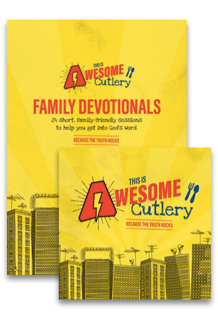 This is Awesome Cutlery Bundle Music CD and Devotional Book [Pack]