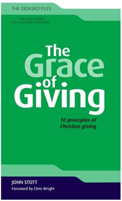 The Grace of Giving [Paperback]