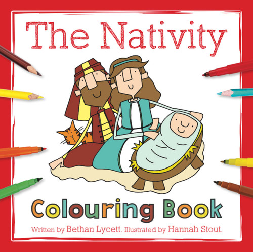 The Nativity Colouring Book [Paperback]
