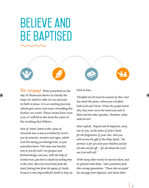 Believe and Be Baptised [Paperback]