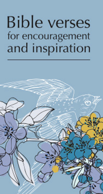 Bible Verses for Encouragement and Inspiration [Tract/Booklet]