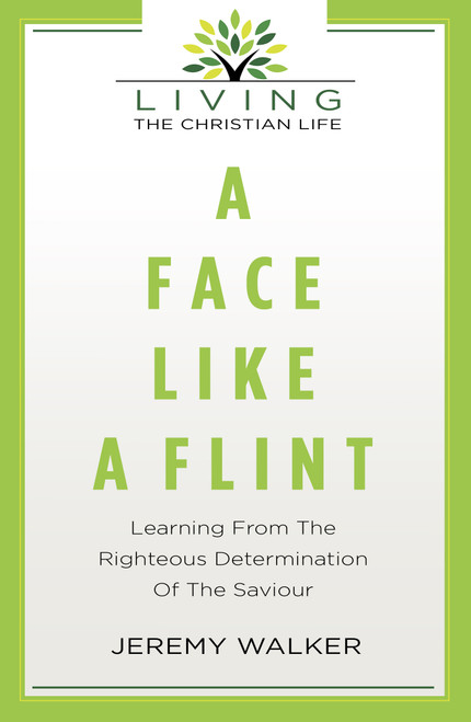 A Face Like Flint Learning from the Righteous Determination of the Saviour [Paperback]
