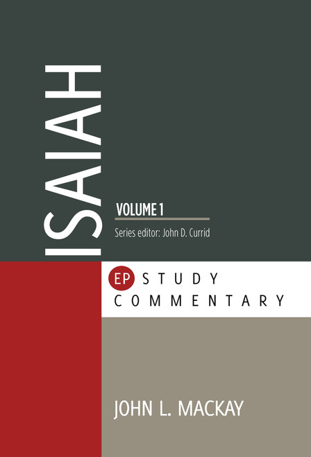 Isaiah Volume 1 EP Study Commentary [Paperback]
