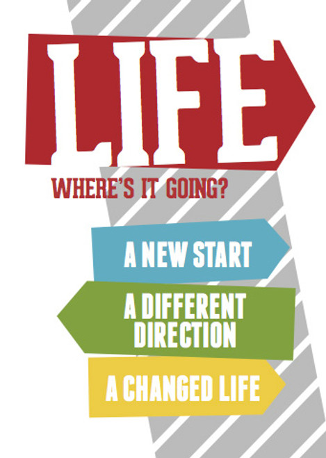 Life: Where's It Going? Changing Lanes Tract [Tract/Booklet]