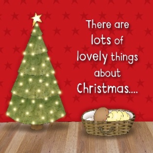 Christmas Cards - There are lots of lovely things about Christmas Pack of 10 [Greetings Card]