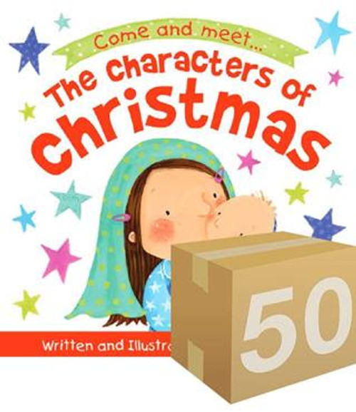 The Characters of Christmas Storybook (Give Away) 50 Pack [Pack]