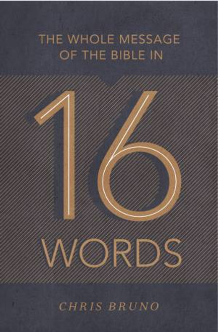 The Whole Message of the Bible in 16 Words [Paperback]