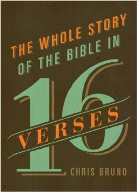 The Whole Story of the Bible in 16 Verses [Paperback]