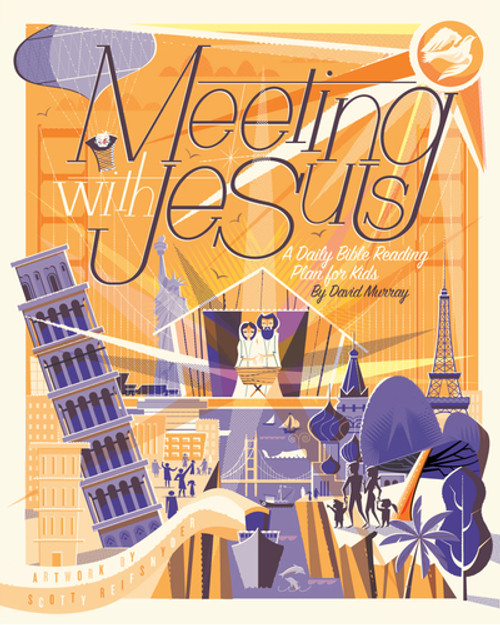Meeting with Jesus A Daily Bible Reading Plan for Kids [Paperback]