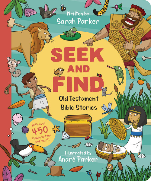 Seek and Find Old Testament Bible Stories [Board Book]