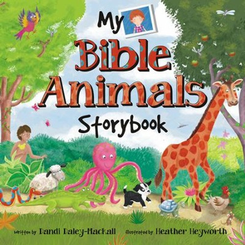 My Bible Animals Storybook A Bible Storybook Devotional [Paperback]