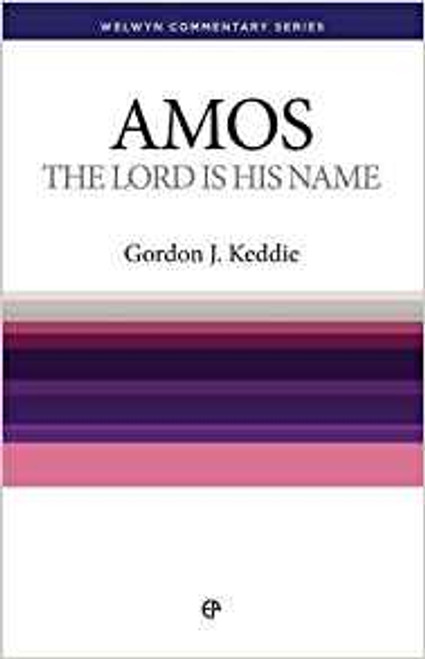Amos The Lord Is His Name [Paperback]