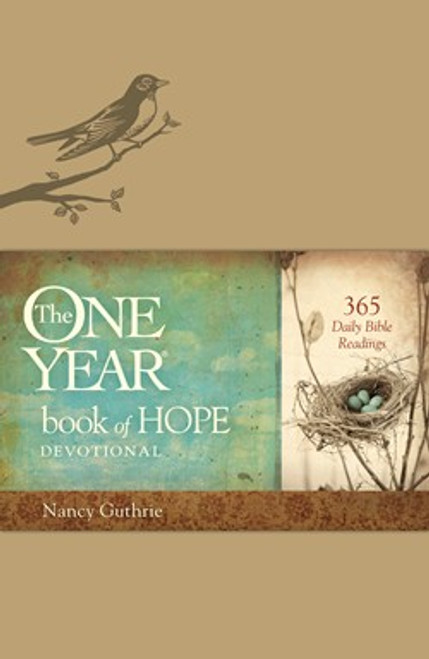 The One Year Book of Hope Devotional [Imitation Leather]