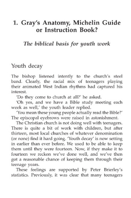 Christian Youth Work The definitive book on Christian Youth Work [eBook]