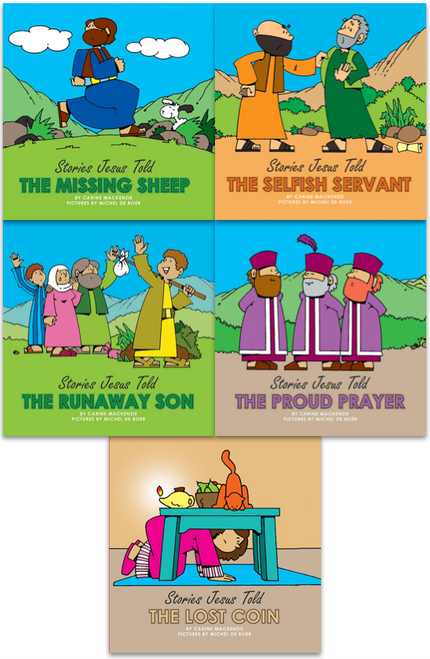 Stories Jesus Told 5 Board Books [Pack]