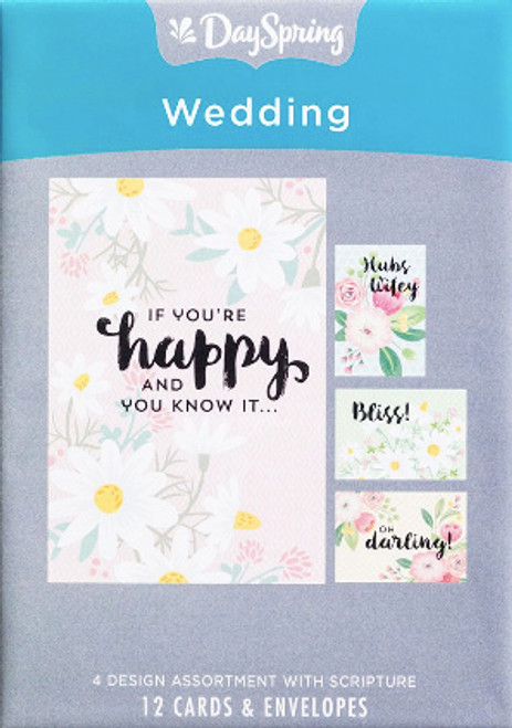 Happy Wedding 12 Boxed Cards [Greetings Card]
