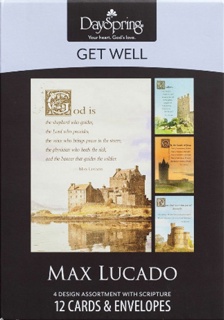 Max Lucado - Get Well - Healing Touch 12 Boxed Cards [Greetings Card]