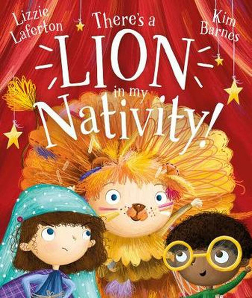There's a Lion in My Nativity! [Paperback]