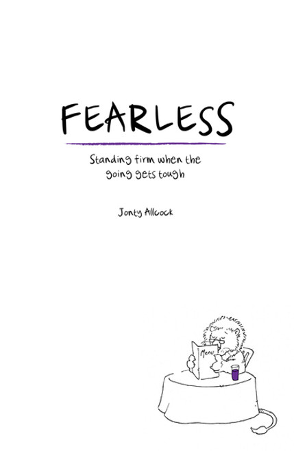 Fearless Standing firm when the going gets tough [Paperback]