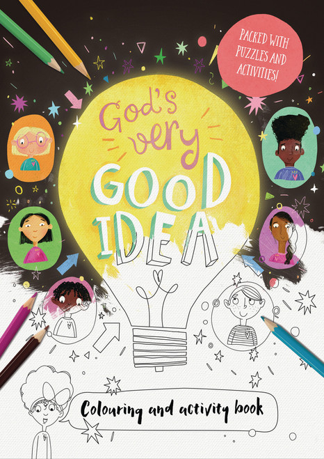 God's Very Good Idea - Coloring and Activity Book [Paperback]