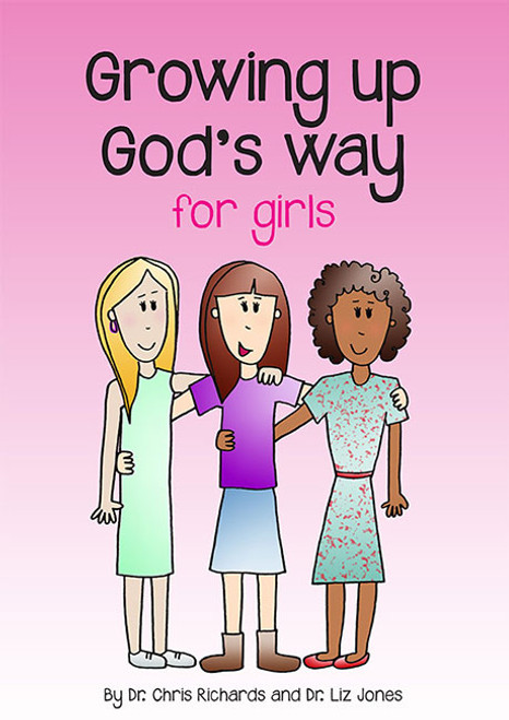 Growing up God's Way For Girls [Paperback]
