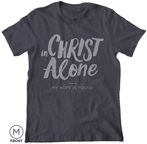 In Christ Alone T-Shirt Heather Gray [T-Shirt]