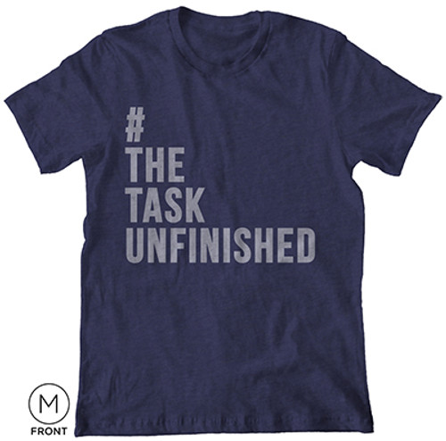 The Task Unfinished T-Shirt Blue [T-Shirt]