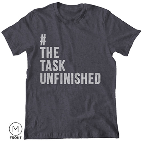 The Task Unfinished T-Shirt Heather Gray [T-Shirt]