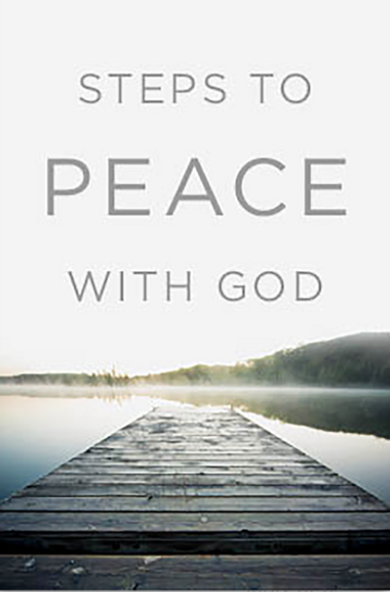Steps to Peace with God 25-pack [Tract/Booklet]