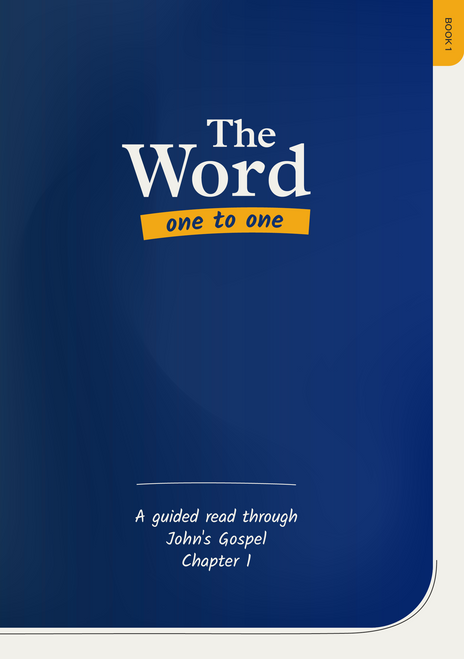 The Word One to One: Book 1 A guided read through John chapter 1 [Paperback]