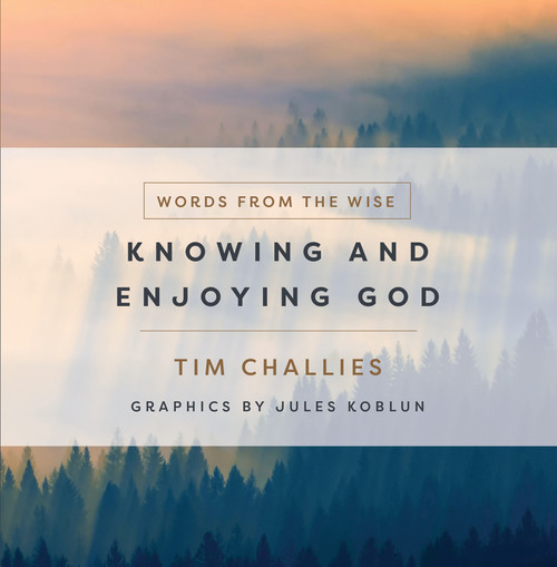 Words from the Wise Knowing and Enjoying God [Hardback]
