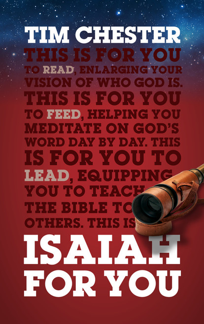 Isaiah For You Enlarging Your Vision of Who God Is [Hardback]